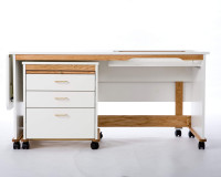 Double Box Sewing Cabinet - Product Image