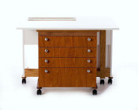 Sewing Cabinet Hideaway - Product Image